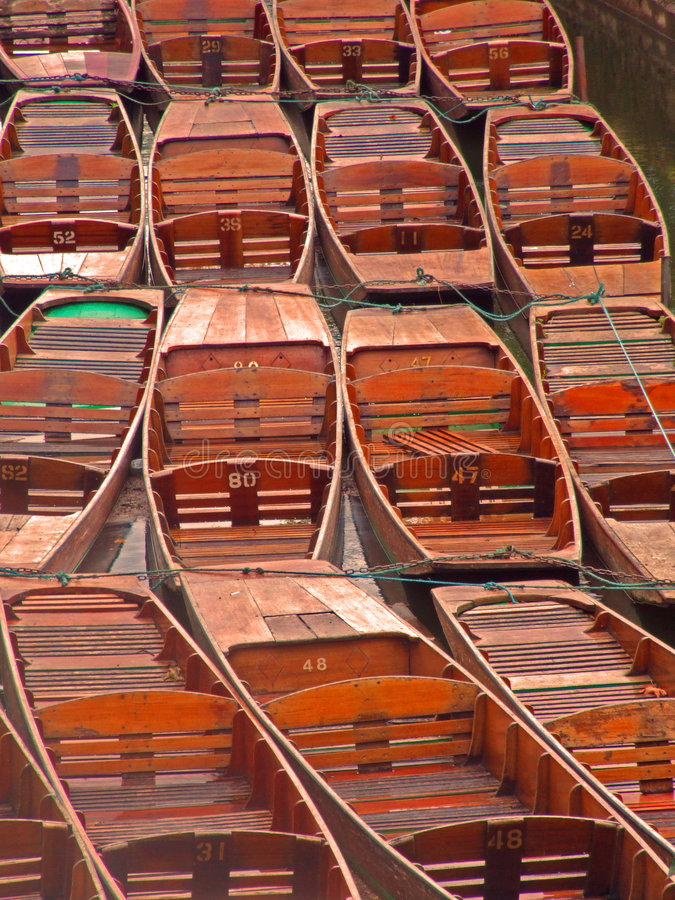 Oxford Punts stock images