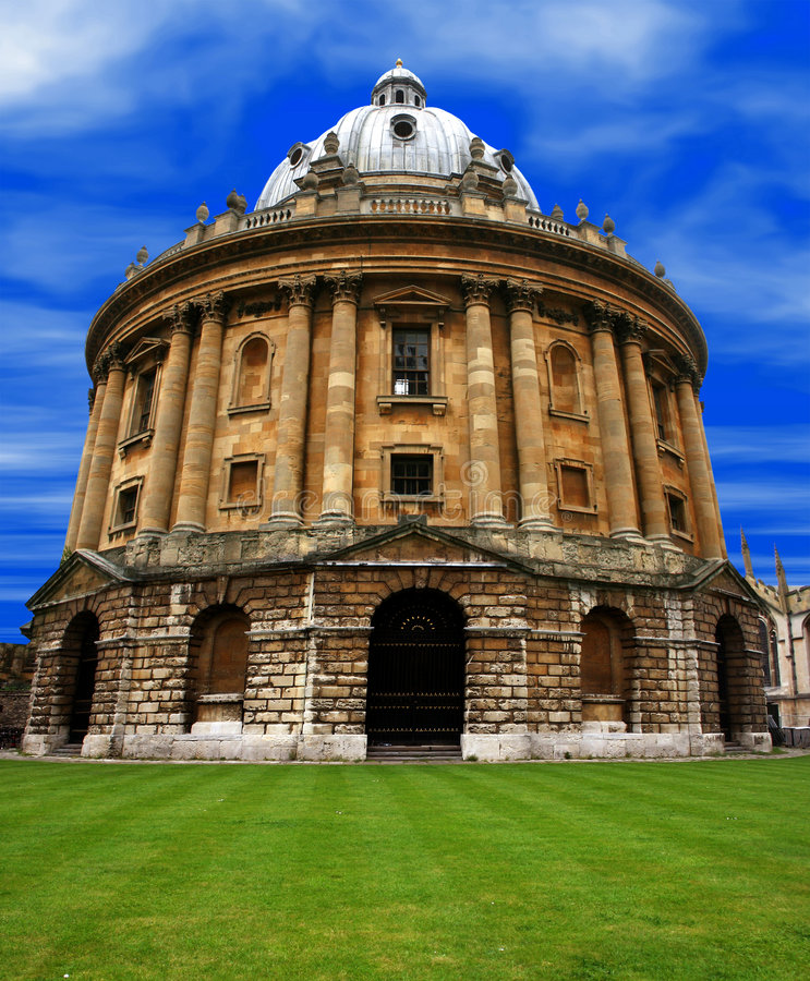 Download Oxford - radcliffe camera stock image. Image of postcards - 732241