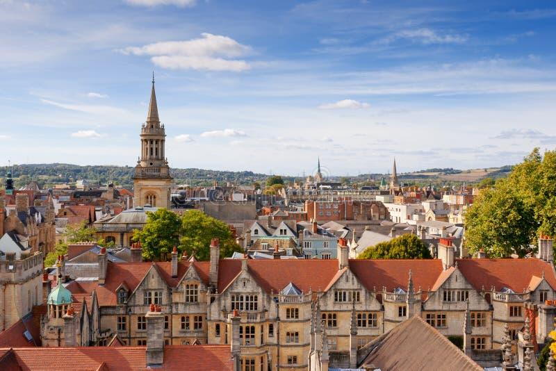 Oxford. Reino Unido foto de archivo libre de regalías