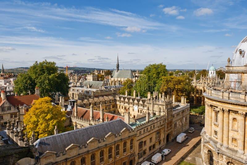Oxford. Reino Unido fotografía de archivo