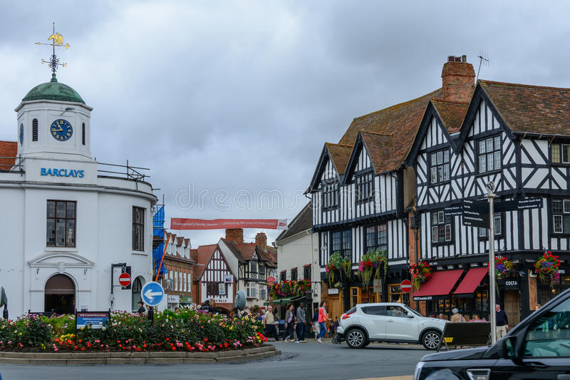 Oxford, Reino Unido - 21 de agosto, la ciudad ve el 21 de agosto de 2016 imagenes de archivo
