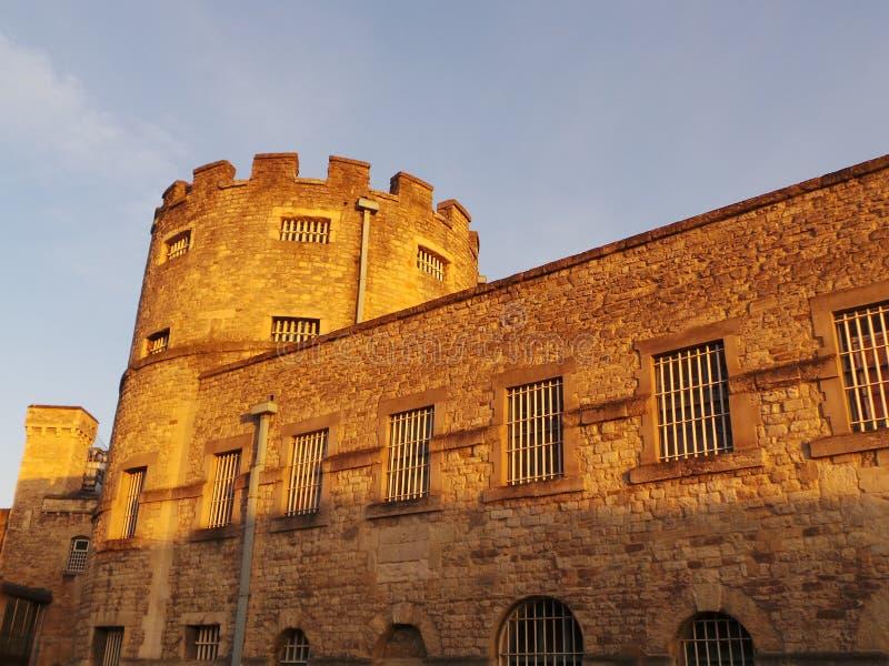 Oxford slott royaltyfria foton