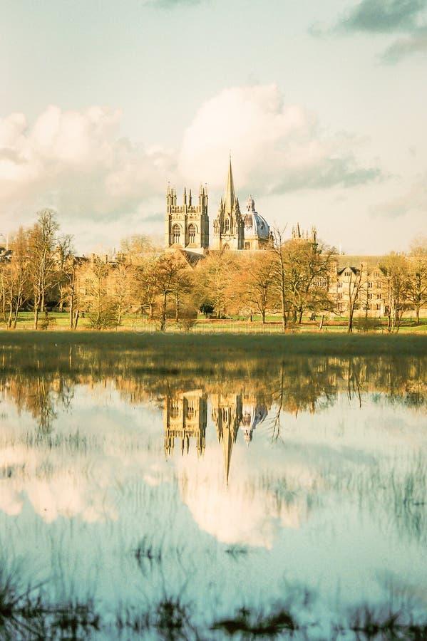 Oxford sommersa fotografia stock