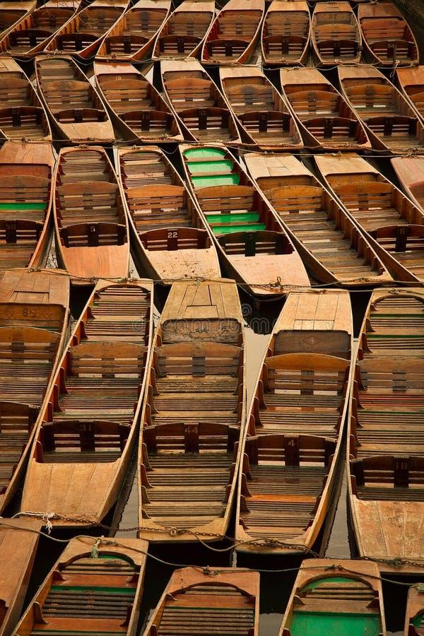 oxford stakbåtar arkivfoton