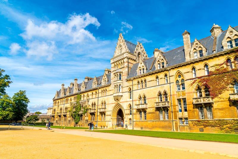 OXFORD,UK-AUG 29 2019 : Christ Church with War Memorial Garden in Oxford, UK stock photo