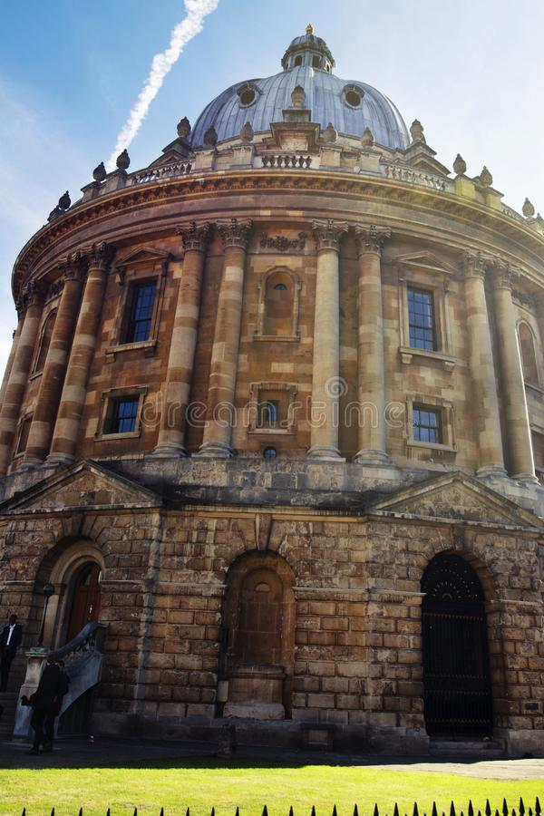 Oxford, United Kingdom. October 13, 2018 - The Bodleian Library, the main research library of the University of Oxford, is one of royalty free stock photography