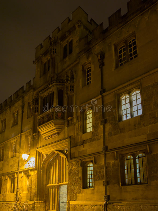 Oxford universitet royaltyfria foton