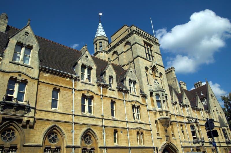 Oxford Universityâs Balliol royalty-vrije stock fotografie