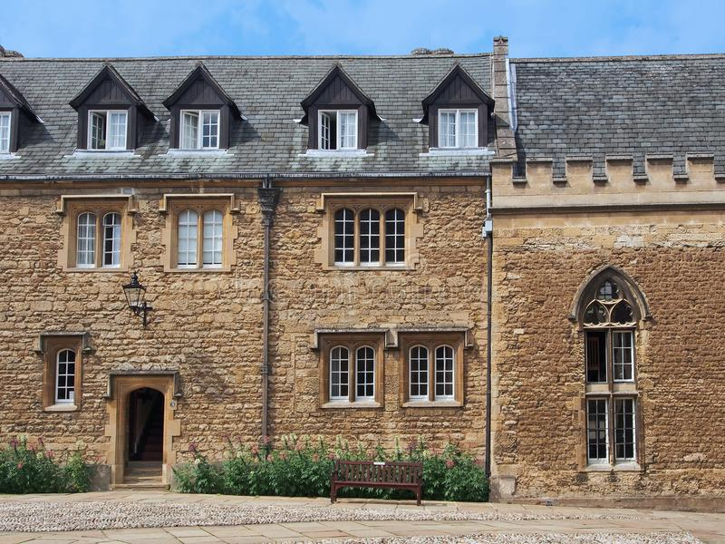 Oxford University residence royalty free stock photography