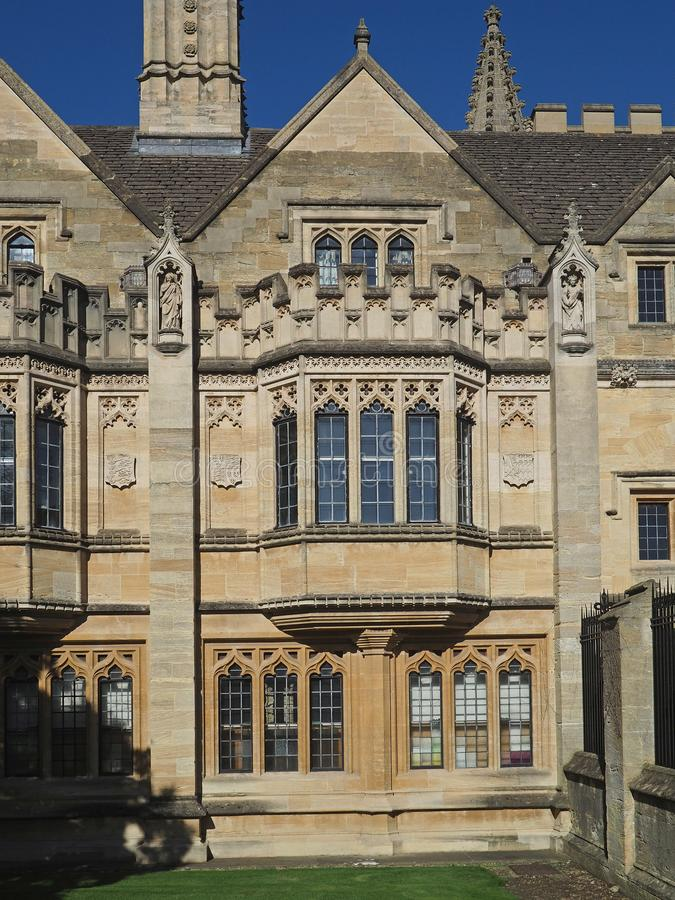 Oxford University stock photo