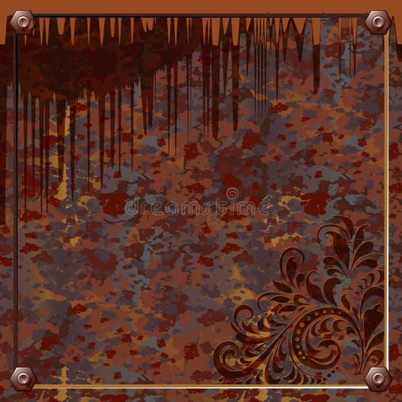 Oxidação ilustração do vetor