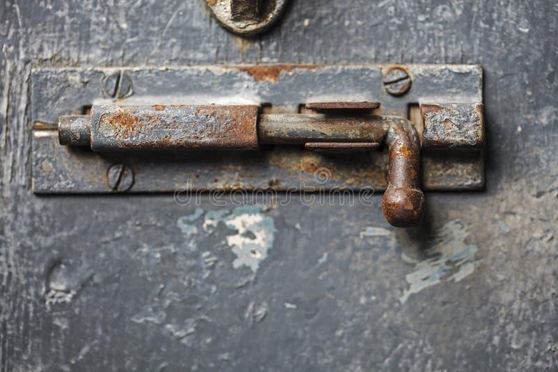 Oxidação de aço chave imagens de stock royalty free