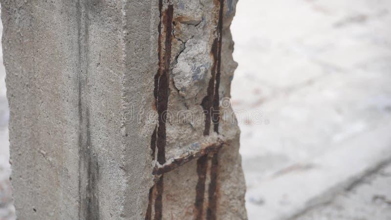 Oxidação de deterioração da construção filme