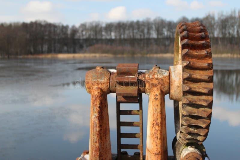 Oxidação de Watergate fotografia de stock