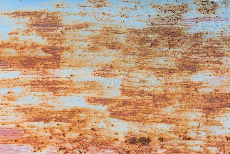 Oxidação do ferro com fundo da corrosão fotos de stock royalty free