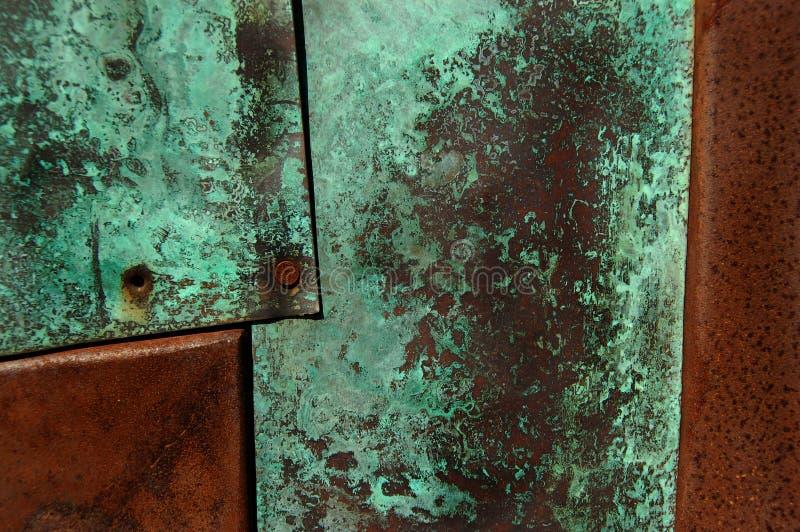 Oxidação e Patina fotos de stock