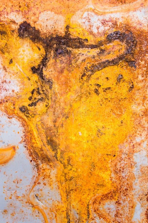 oxidação no fundo velho da parede fotos de stock