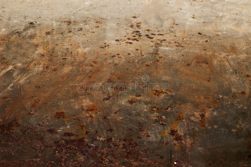 Oxidized metal surface. Making an abstract texture, high resolution stock image