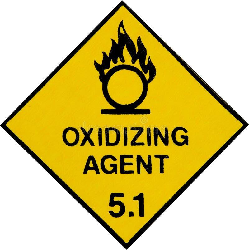 Oxidizing Warning Sign