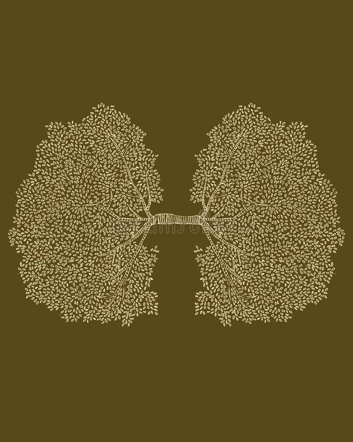 Oxigênio ilustração royalty free
