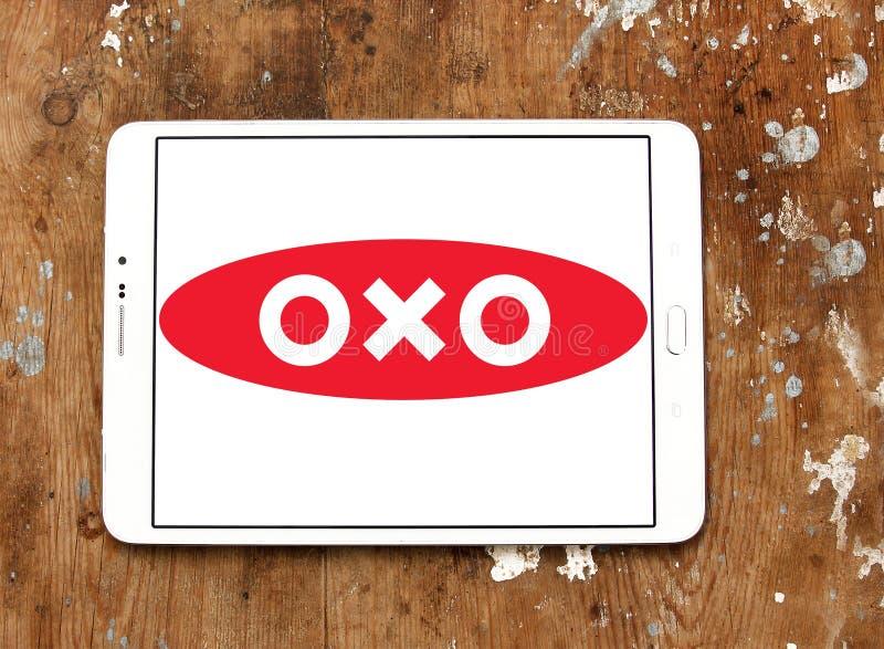 OXO merkembleem stock foto