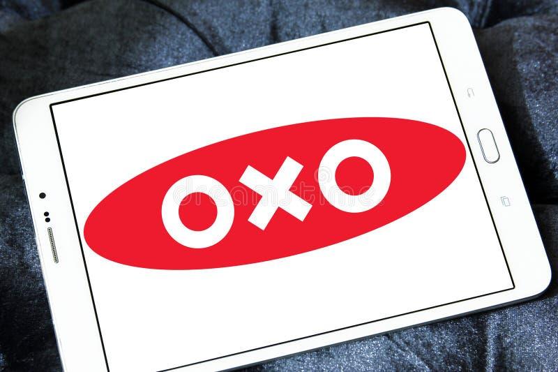 OXO merkembleem stock foto's