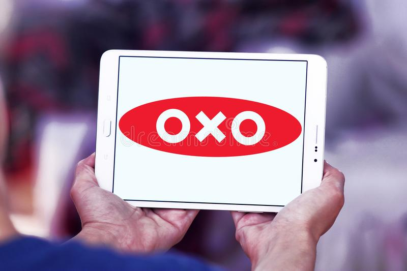 OXO merkembleem stock fotografie