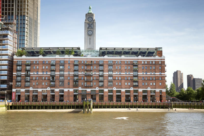 Download OXO Tower At The Thames, London Stock Photo - Image: 41875578