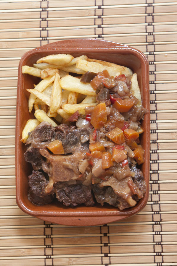 Oxtail royalty free stock photos