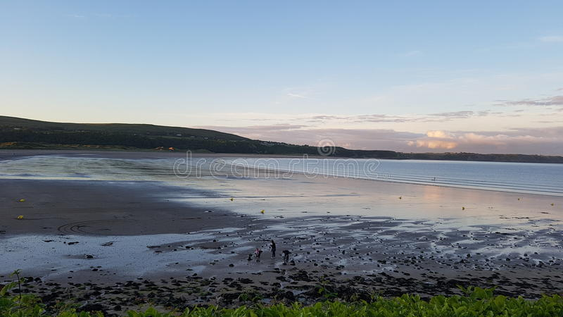 Oxwich bay Wales royalty free stock images