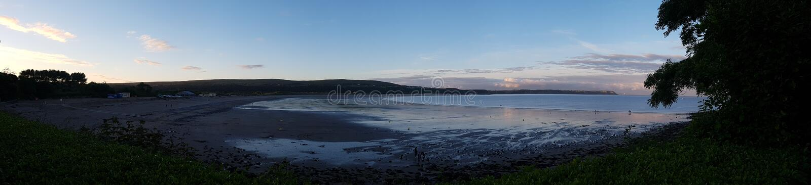 Oxwich bay Wales royalty free stock photo