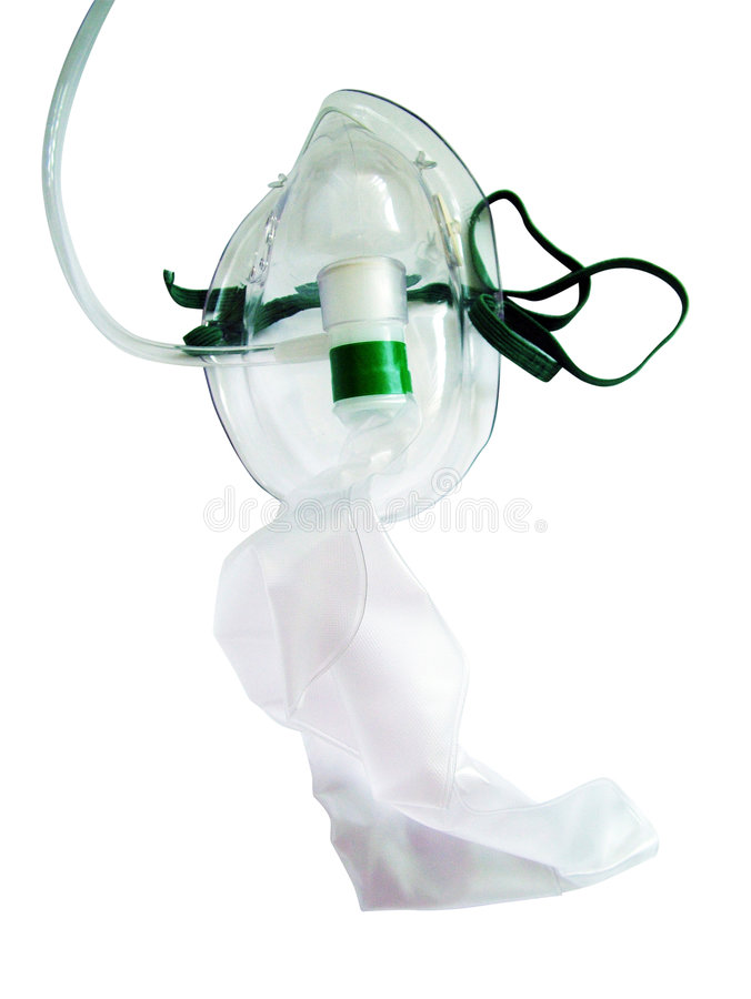 Oxygen mask royalty free stock photo