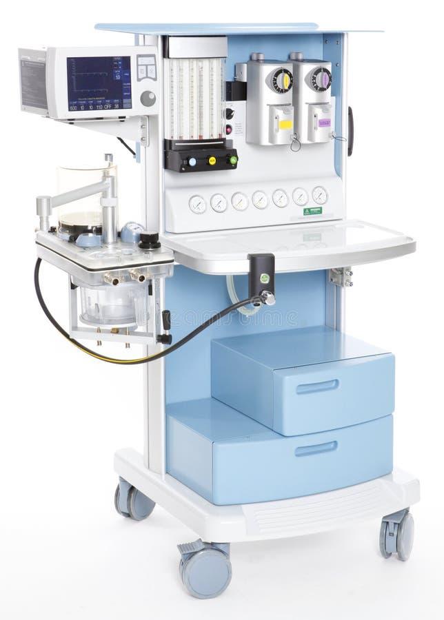 Oxygen regulator. Modern medical emergency oxygen regulator stock photography
