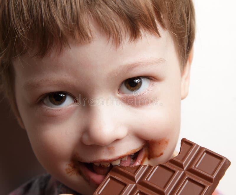 Oy avec du chocolat photo libre de droits