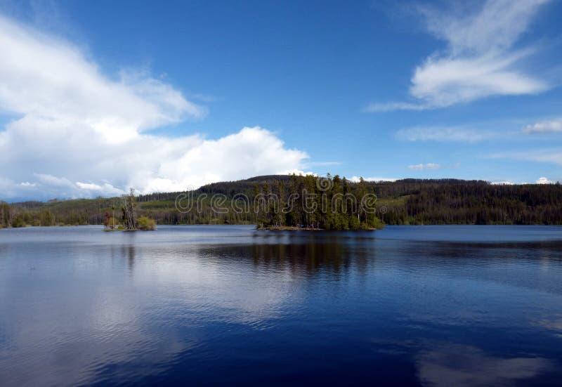 Oyama jezioro obraz stock