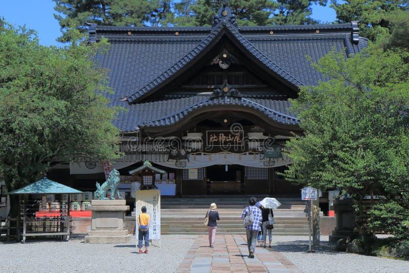 Famous Oyama Shrine Kanazawa Japan stock images
