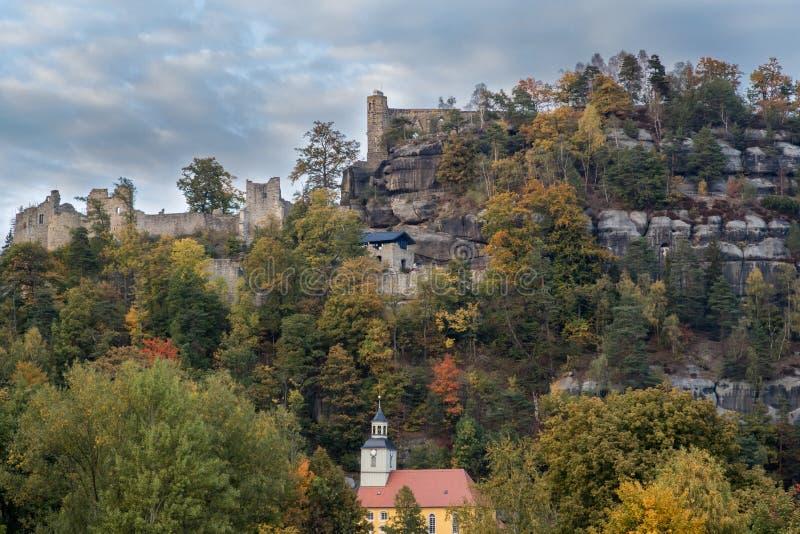 Oybin Tyskland arkivbilder