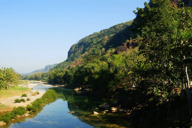 Oyo-Fluss lizenzfreie stockfotografie