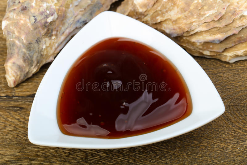 Oyster sauce royalty free stock photo