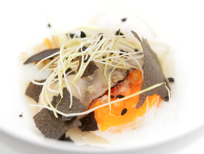 Download Oyster With Slow Cooked Omelette Stock Photo - Image: 20352662