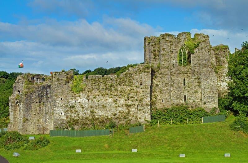 oystermouth замока стоковая фотография rf