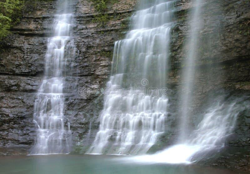 Ozark瀑布 图库摄影