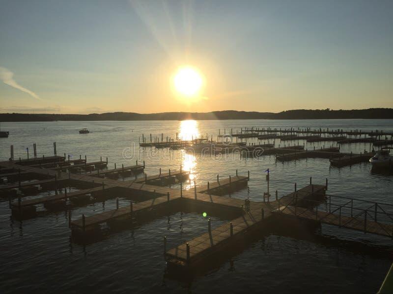 Ozark Missouri del lago fotografia stock