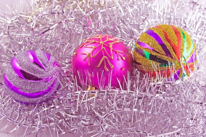 ozdoby świąteczne drzew obrazy stock