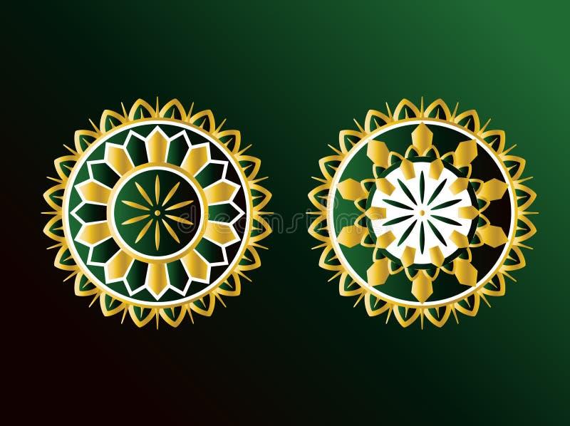 ozdoby arabskich ilustracji