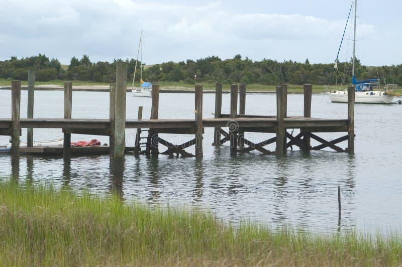 Ozean-Dock stockbild