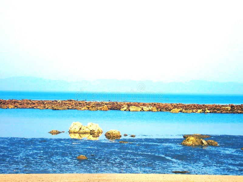 Ozean-Freude lizenzfreie stockfotos
