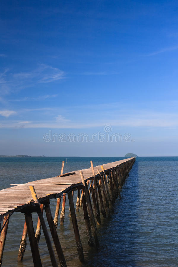 Ozean-Pier stockfoto