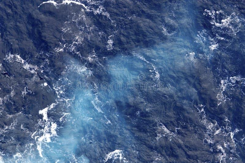 Ozean spinnt stockfotos