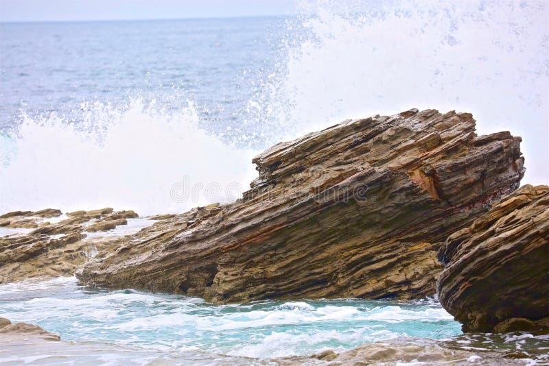 Ozean-Spritzen lizenzfreies stockbild